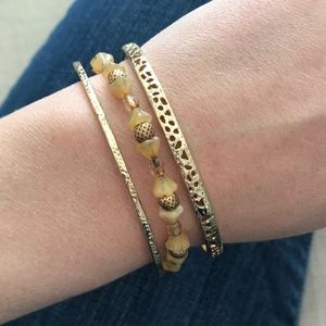 Alex and Ani bracelet bundle